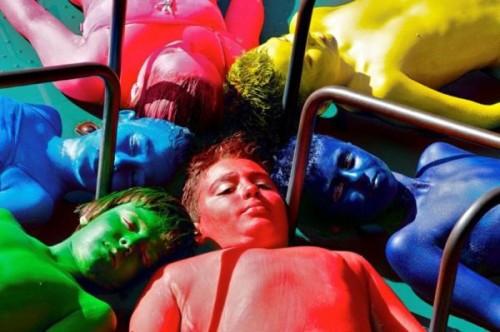 photo: Human Statue Bodyart, Sydney, Eva Rinaldi