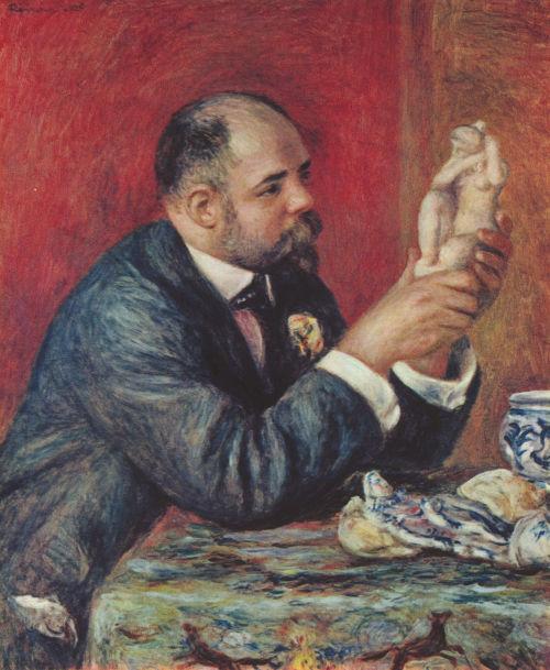 """Portret Ambrożego Vollarda"", Pierre Auguste Renoir"