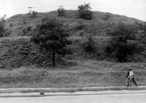 Wzgórze Mikołajskie w 1968 roku, Creative Commons
