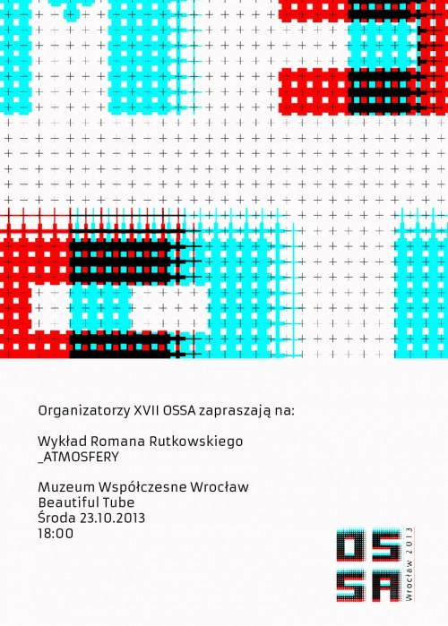 Atmosfery — wykład Romana Rutkowskiego
