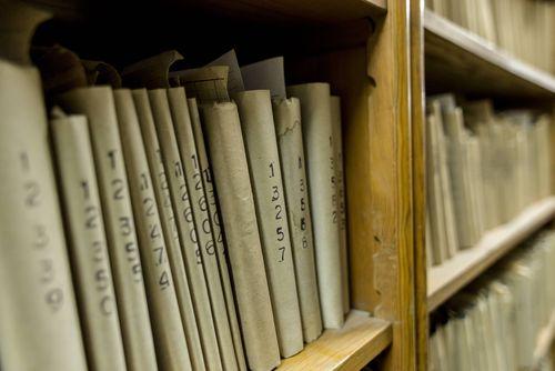 Photos of prison library in Rawicz ( photo: Łukasz Giza)
