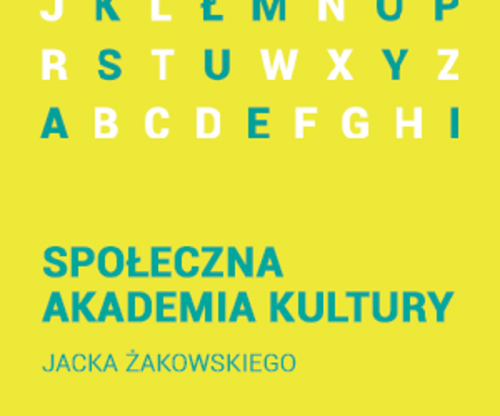 Social Academy of Culture — workshops