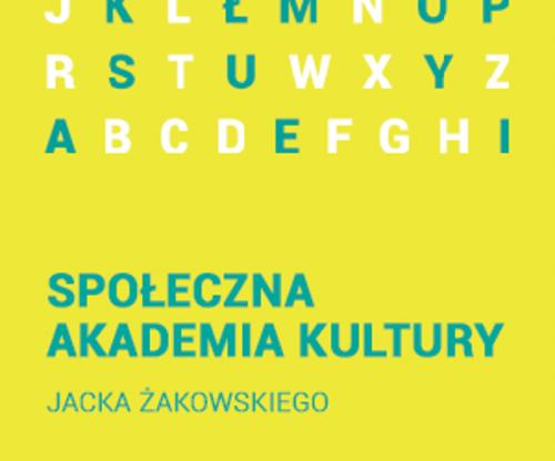 Społeczna Akademia Kultury — warsztaty