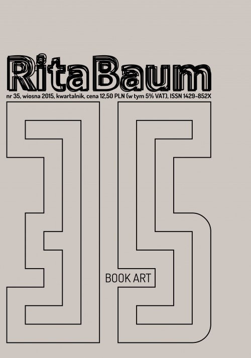 Rita's promotion of book art
