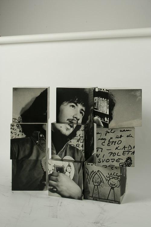 Petar Dabac, Kostka, 1970, dzięki uprzejmości Muzeum Sztuki Współczesnej w Zagrzebiu