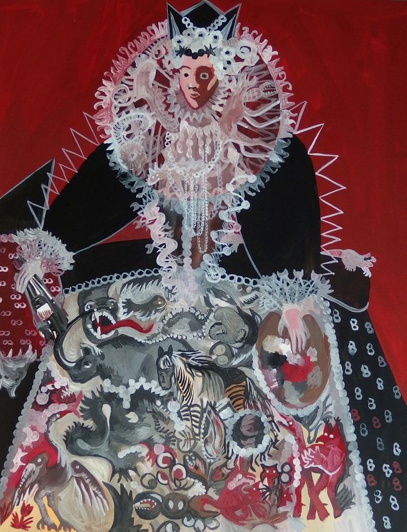 Japońska królowa malarstwa i hybryd, 2014