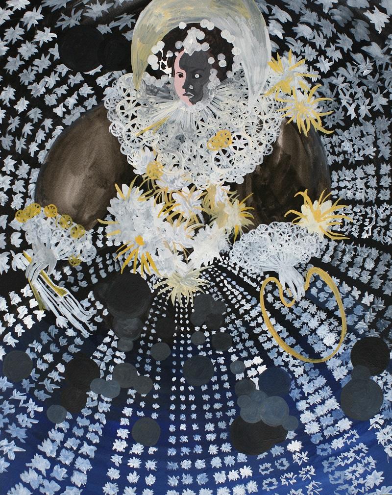 Królowa malarstwa i nocy, 2014