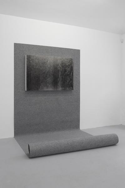 Mateusz Sadowski, It ends, 2012, archive print, mdf, carpeting, property: Stereo Gallery