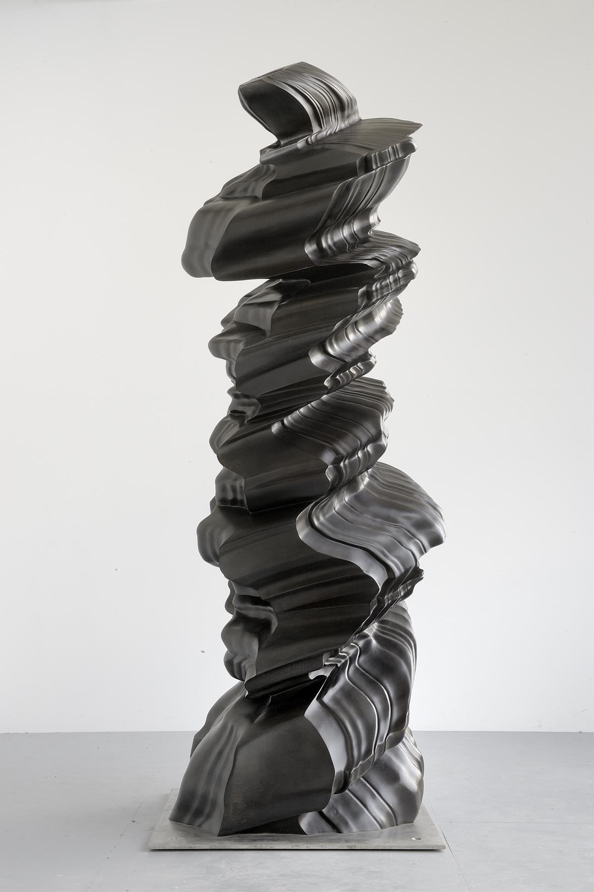 Tony Cragg, Ever After, 2006, dim 324 × 125 × 115, bronze, photo Charles Duprat