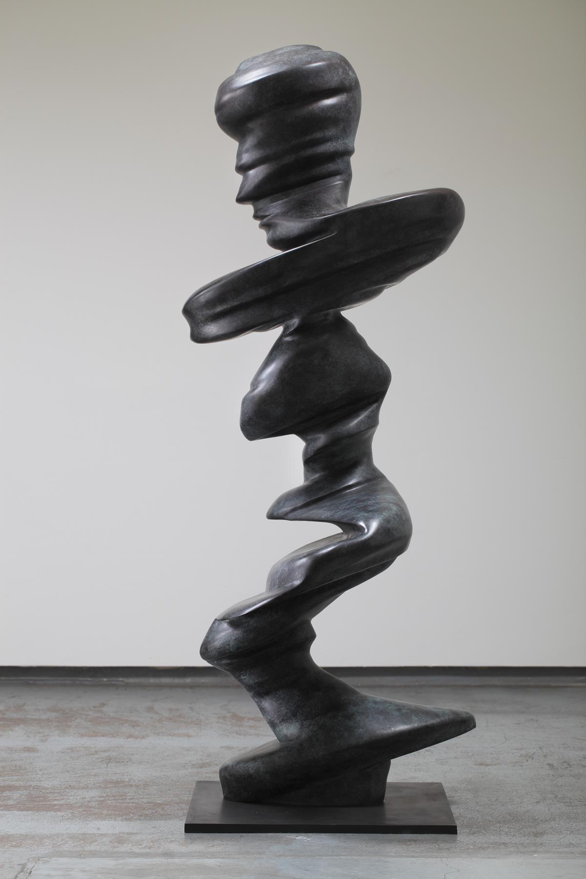 Tony Cragg, Dancer, 2008, dim 186 × 80 × 80, bronze, photo Martin Polak
