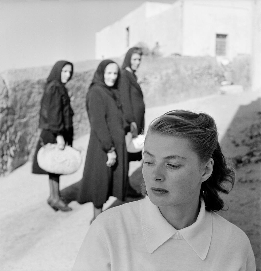 Ingrid Bergman na Stromboli, Włochy, 1949 © dzięki uprzejmości The Gordon Parks Foundation