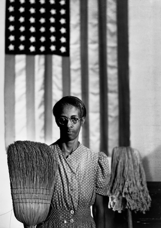 Amerykański gotyk, Waszyngton, 1942 © dzięki uprzejmości The Gordon Parks Foundation