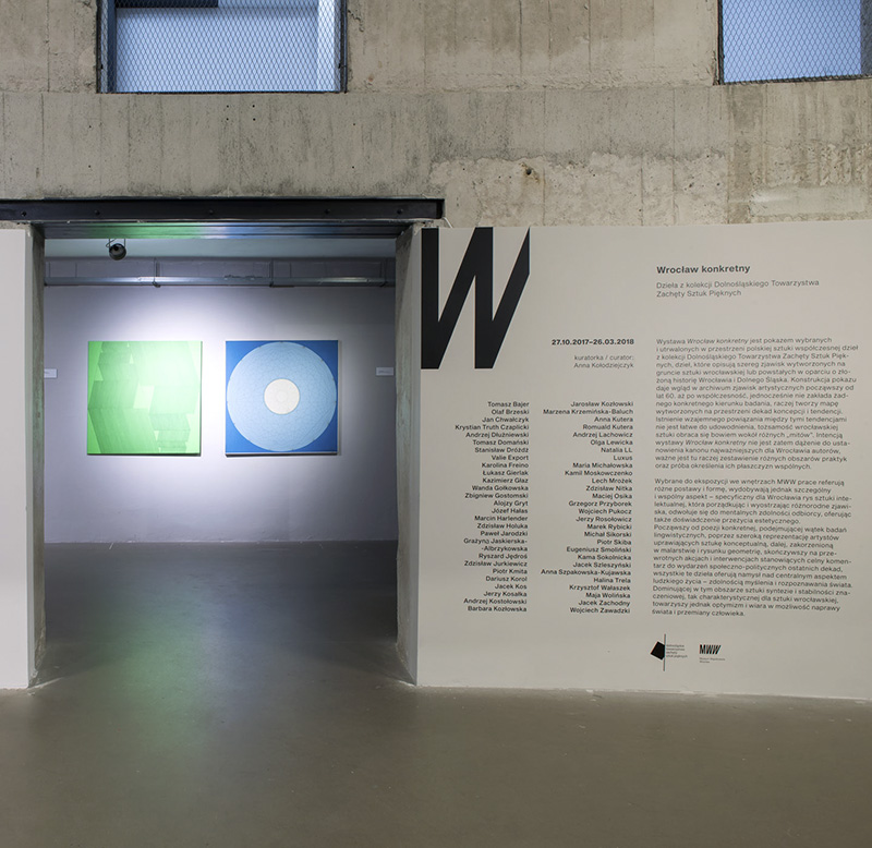 """The final tours of the exhibition """"Concrete Wrocław"""""""