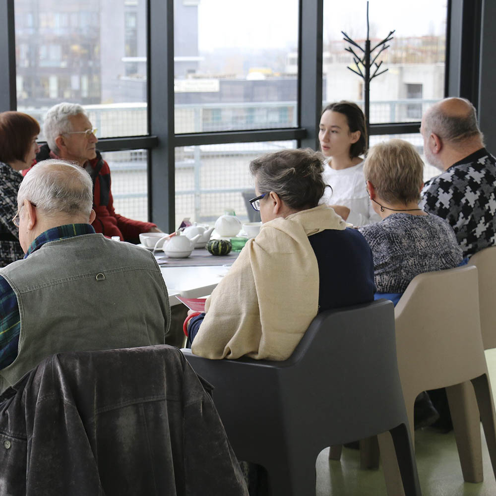 Tell me your story. Creative workshop for seniors