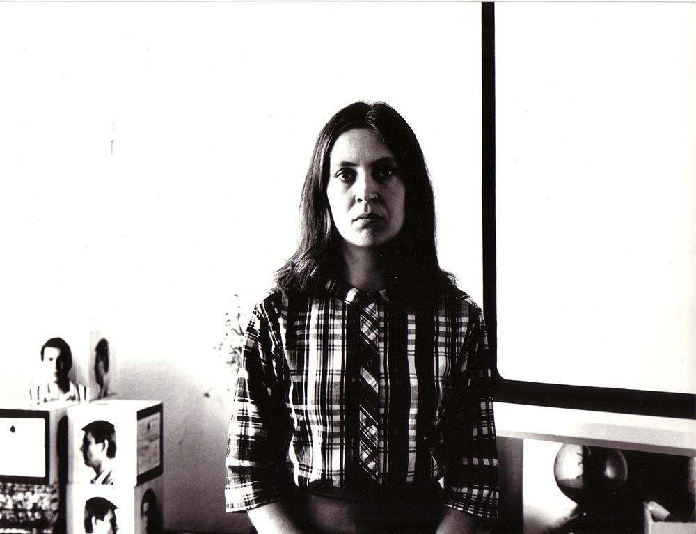 Barbara Kozłowska, 1970, fot. Andrzej Lachowicz, dzięki uprzejmości Zbigniewa Makarewicza