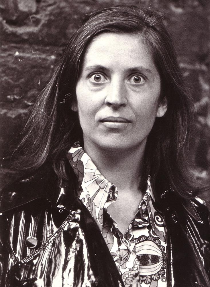 Barbara Kozłowska podczas Zjazdu Marzycieli, Elbląg, 1970, fot. Czesław Misiuk