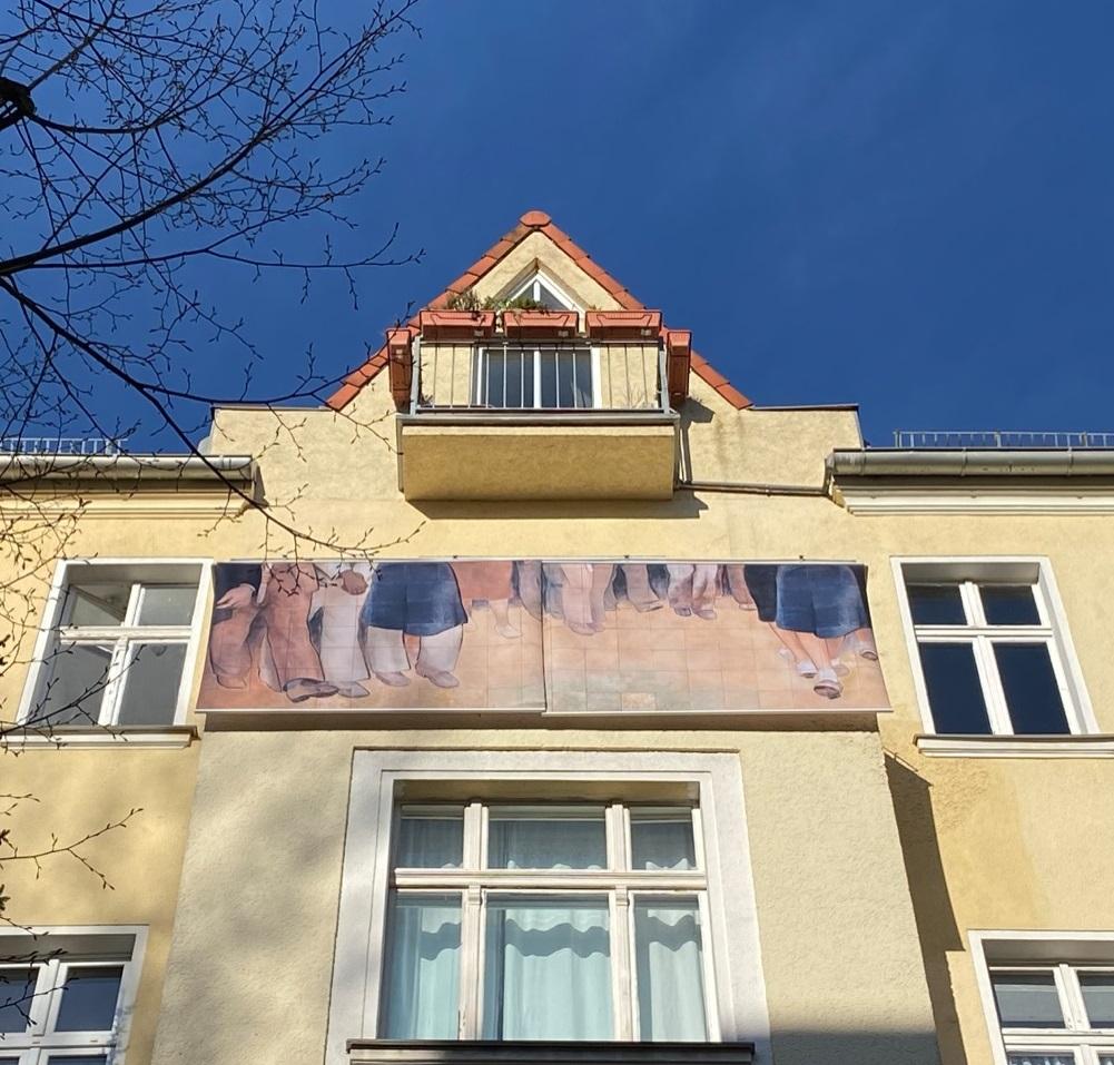 Ulf Aminde, Footworks, Die Balkone, Berlin 2020