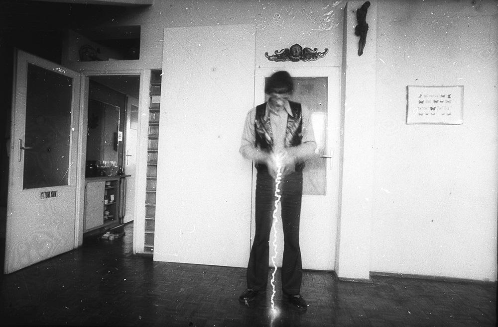 Zdzisław Jurkiewicz, Falling Light, 1970, private archive